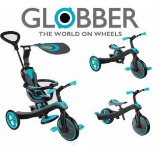 GLOBBER TRIKE EXPLORER. Обзор многофункциональных трехколесных велосипедов-трансформеров